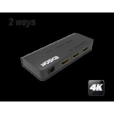 4K HDMI splitter 1x2
