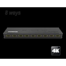 4K HDMI splitter 1x8