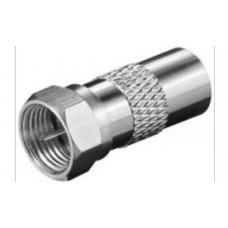 Adapter F-male to TV(IEC)-male
